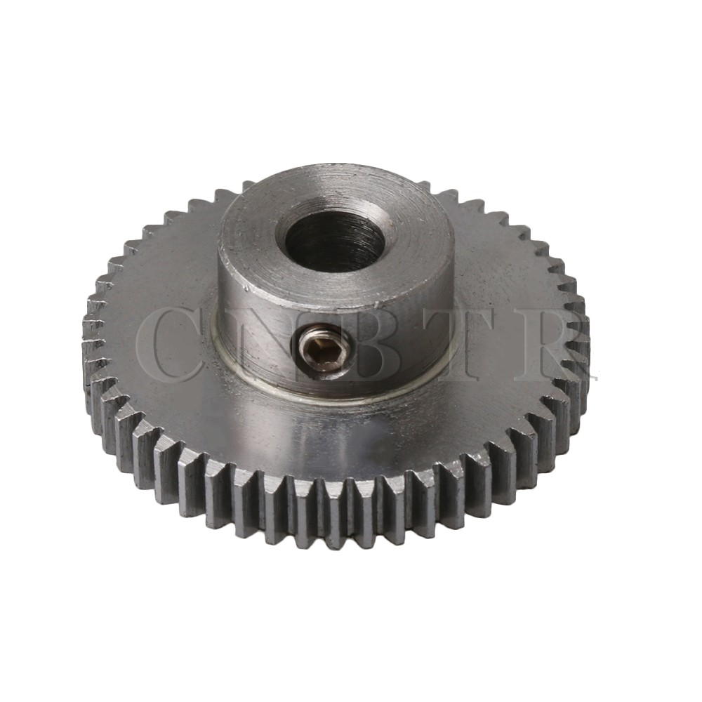 2PCS 7-16 Teeth 0.3//0.4//0.5 Modulus Motor Shaft Metal Reduction Gear 1-5mm Hole