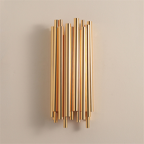 criativo moderno individualidade metal luz de parede retro ouro sala estar quarto cozinha decoracao do