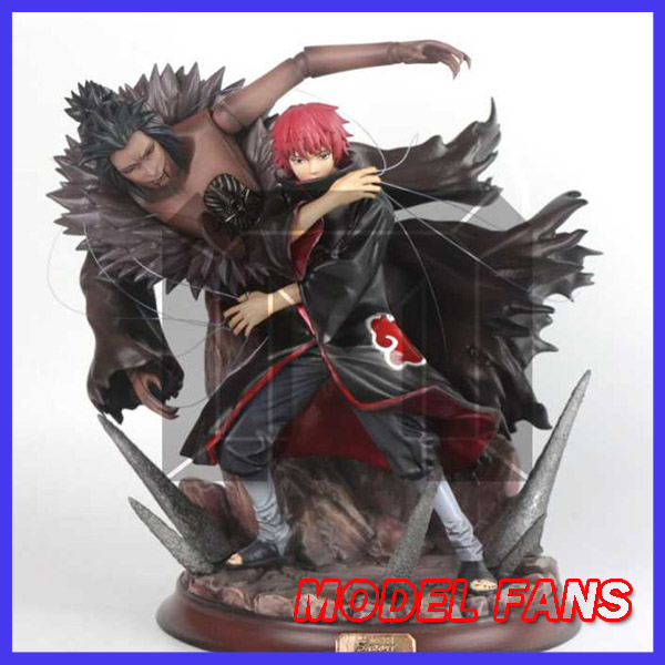 810ebf30b5b1 MODEL FANS IN-STOCK NARUTO 26cm Akatsuki Akasuna no Sasori fighting posture  GK resin statue figure for Collection Handicrafts