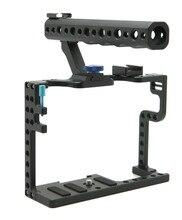 DSLR камеры Кейдж с Топ Ручка для Panasonic Lumix GH5 установка камеры