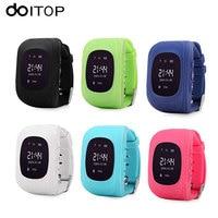 DOITOP Q50 GPS Kids Anti Lost Smart Watch GPS LBS Locator Tracker OLED LCD SOS Call