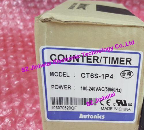 Здесь можно купить  CT6S-1P4 Authentic original AUTONICS Count relay  Timer/counter  Электротехническое оборудование и материалы