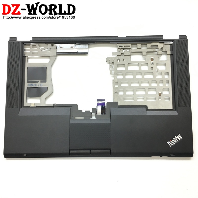 New Palmrest Upper Case keyboard Bezel with <font><b>touchpad</b></font> button speaker <font><b>cable</b></font> for Lenovo Thinkpad T430S <font><b>laptop</b></font> C Cover 04W3496 image