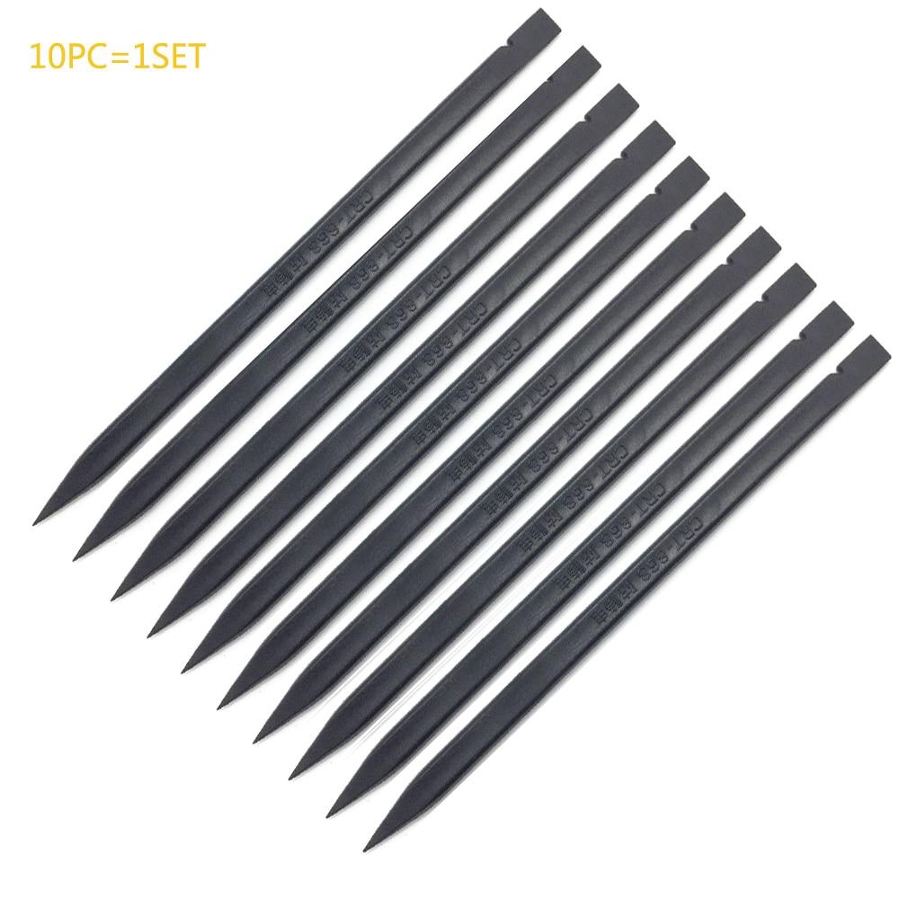 10pcs / lot 2 colori attrezzo manuale antistatico di apertura della leva del bastone dello spudger di plastica per la riparazione dello smartphone di Samsung iPad iPhone