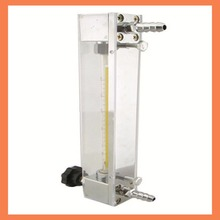 Gas flow meter LZB-4, glass rotameter flow meter with control valve for gas,it can adjust flow ToolsMeasurement flowmeters lzb 15 glass rotameter flow meter for liquid and gas flange connection