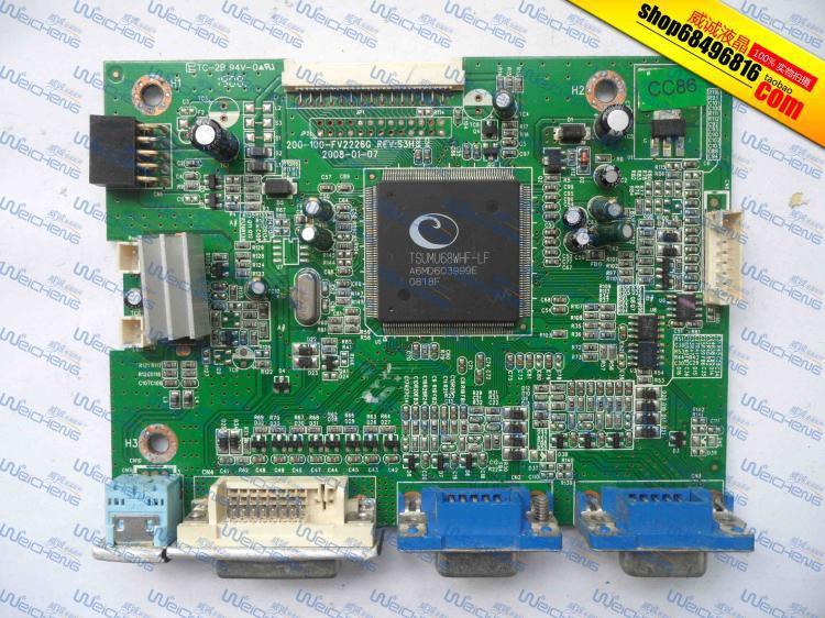 Free Shipping> N220W logic board 200-100-FV2226G driver board / motherboard / signal board-Original 100% Teste free shipping hg191 logic board 715g1558 1 bj driver board motherboard signal board original 100% tested w
