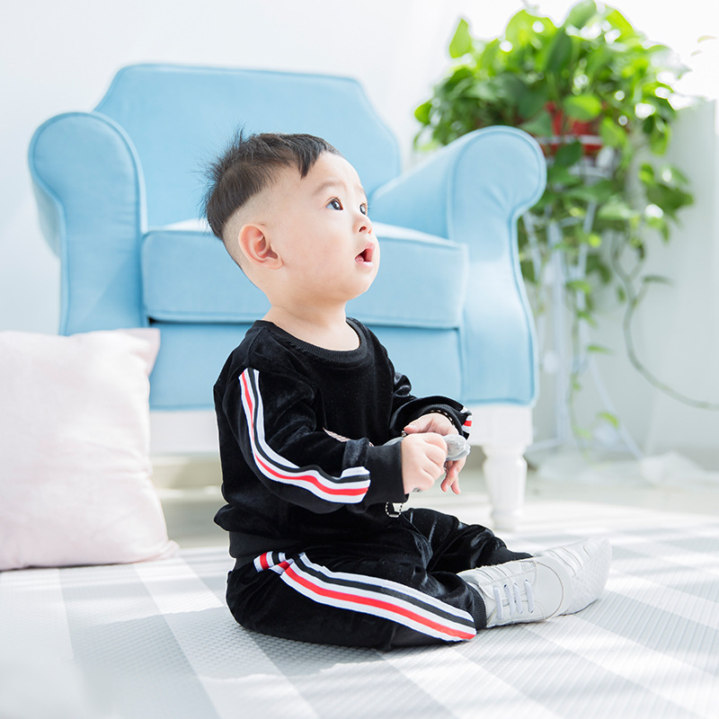 Baby Girl Sports Clothes Set Newborn Toddler Cotton Suit Kids Girl Outfits Autumn Winter Tracksuit Infant Boys Clothing Set