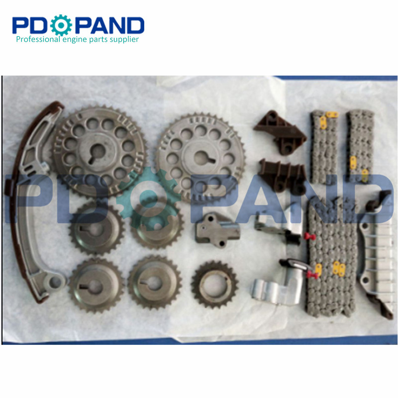 ENGINE TIMING CHAIN KIT FITS for 98 04 NISSAN 2 4L ALTIMA FRONTIER