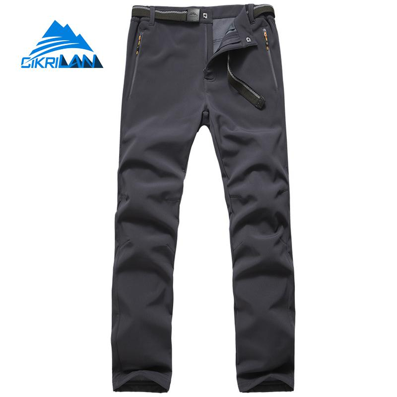 Mens Sports Climbing Trekking Windbreaker Water Resistant Softshell Trousers Hiking Camping Outdoor Pants Men Pantalones Hombre
