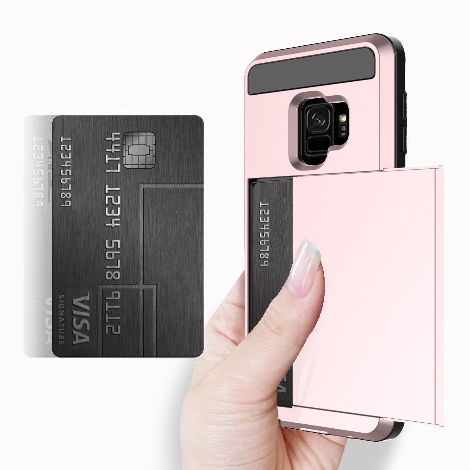 Original Wontive Card Wallet Slot Shockproof Hybrid Phone Cases Goospery Iphone 6 6s Dream Bumper Case Rose Gold Cover For Samsung Galaxy S7 Edge S8 Plus S9 Note 8 In From Cellphones