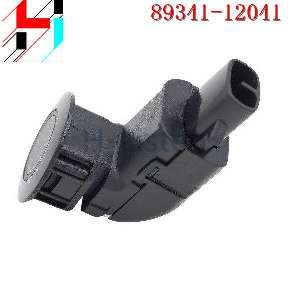 New Parking PDC Ultrasonic Sensor 89341-12041 8934112041 Reversing Radar Sensor For Toyota Corolla 1.8L 2002-2007 Black Silvery