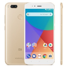 Global Version Xiaomi Mi A1 MiA1 4GB 64GB RAM Smartphone Snapdragon 625 Cellphone 5.5 Inch Dual Cameras 12MP LTE 4G Android One(China)