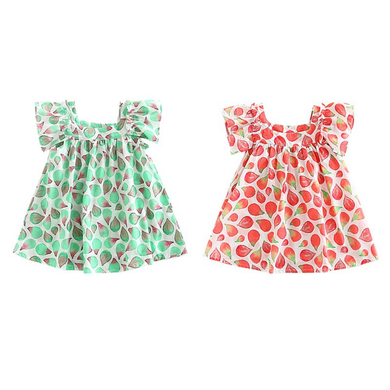 Toddler Kids Baby Girls Princess Party Clothes Cotton Sleeveless Tutu Dresses