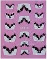 1 Лист Мода Французский Стиль с красоты украшения 3D Дизайн Советы Nail Art Ногтей Наклейки Для Ногтей Наклейка Маникюр Цвета Смешивания Ногтей Инструменты
