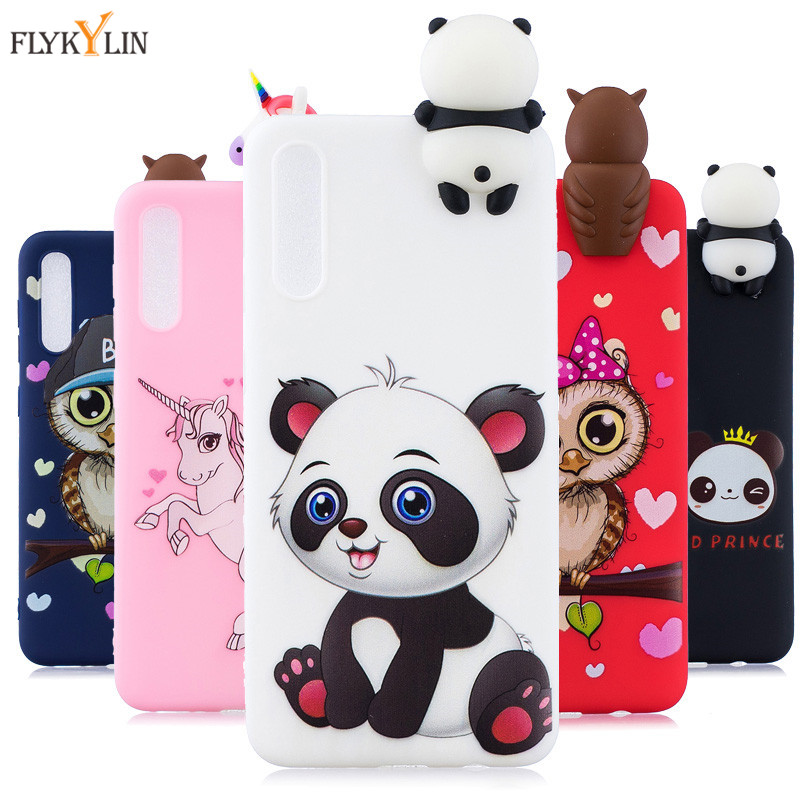 Silicone Case on sFor <font><b>Coque</b></font> <font><b>Samsung</b></font> Galaxy <font><b>A10</b></font> A20 A30 A40 A50 A70 Case Unicorn Panda Back cover For <font><b>Samsung</b></font> M10 M20 M30 Cases image