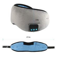 Bluetooth Sleep Headphone Mask Wireless Eye Earphone Travel Shades with Built-in Speakers Mic Handsfree d29