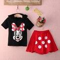 Toddler Baby Boy Girls Kids Niños Del Verano Arropa los Sistemas de Manga Corta Camiseta + Pantalones de Vestir Traje de Conjuntos