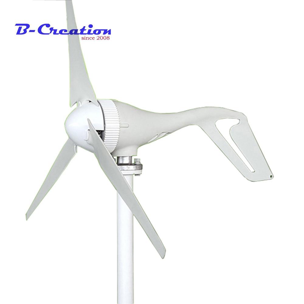 400w wind turbine Max power 450w 3/5 blades small wind mill low start up wind generator + 400w wind solar hybrid controller цена