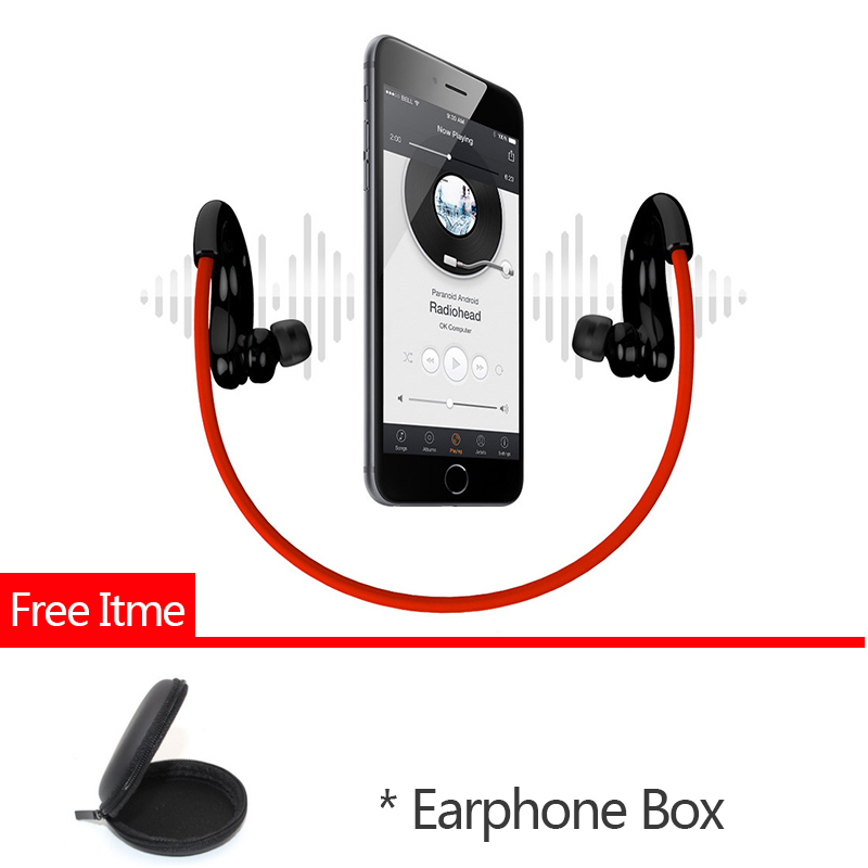 8GB Bluetooth Earphone Mp3 Original Q10 Hifi MP3 Music Player Stereo Bluetooth Headset Wireless Headphone MP3 + Bluetooth Play