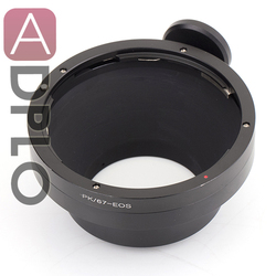 ADPLO For PK-EOS lens adapter suit for Pentax PK 67 to Canon E0S EF 50D 7D 5D 6D 50D 40D 30D 100D 700D 650D 600D 550D 500D 450D