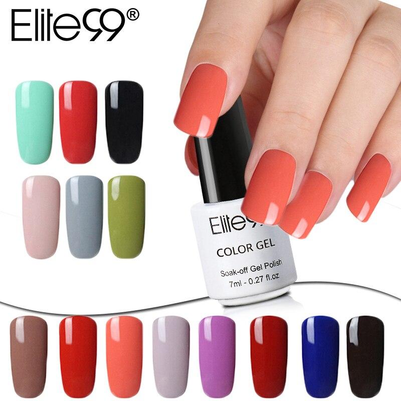 Elite99 7 мл 3 в 1 УФ-гель замочить от УФ-гель для ногтей One Step для ногтей без необходимы вещи наивысшего Базовое покрытие для ногтей, с изображение...