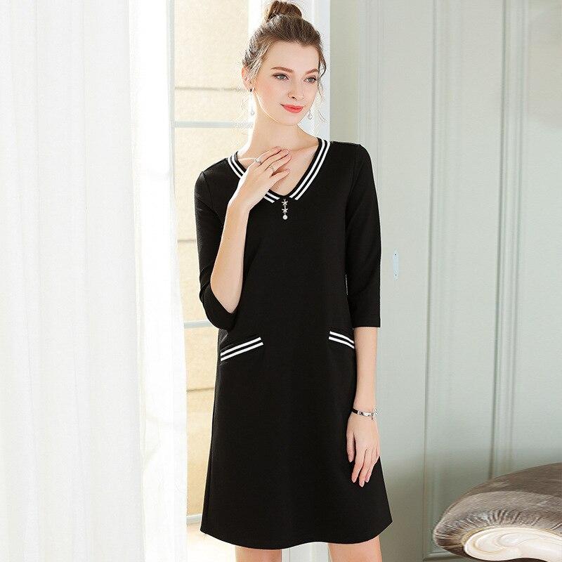 Le Club 2018 Sexy De Été Envelopper Taille Mini Plus 5xl Printemps Casual Femmes Travail Noir La Partie Robes Vintage Bohême Robe zzpr7
