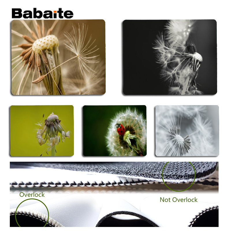 Babaite The dandelion Large Mouse pad PC Computer mat Size for 25x29cm Gaming Mousepads