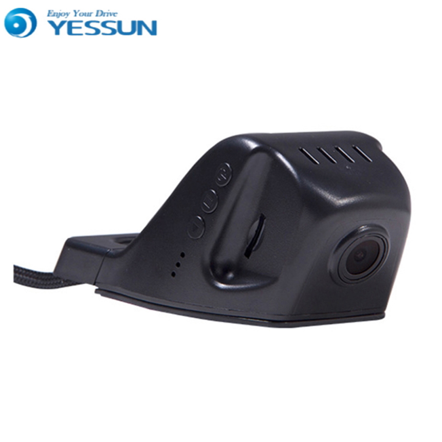 For Ford Fiesta / Car Driving Video Recorder DVR Mini Control APP Wifi Camera Black Box / Registrator Dash Cam Original Style for suzuki liana car dvr driving video recorder mini control app wifi camera black box registrator dash cam night vision