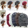 Fashion Unisex Womens Mens Knit Baggy Beanie Hat Winter Warm Oversized Ski Caps