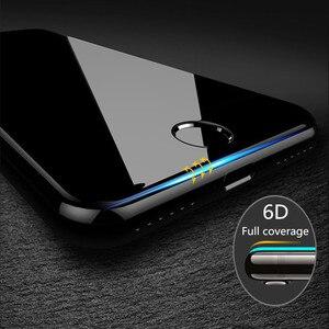 Image 3 - 6D tam kapak temperli cam iPhone 11 Pro 8 7 6 6S artı X XS MAX iphone 7 8x12 Pro Mini ekran koruyucu koruyucu cam