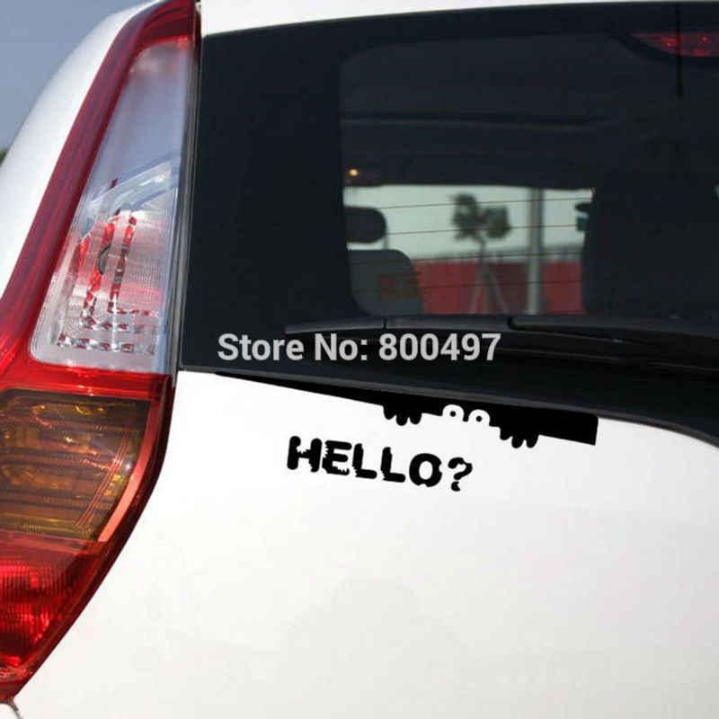 Mới nhất creative xe styling peering nói chào xe stickers xe decal cho toyota chevrolet ford honda volkswagen hyundai kia lada