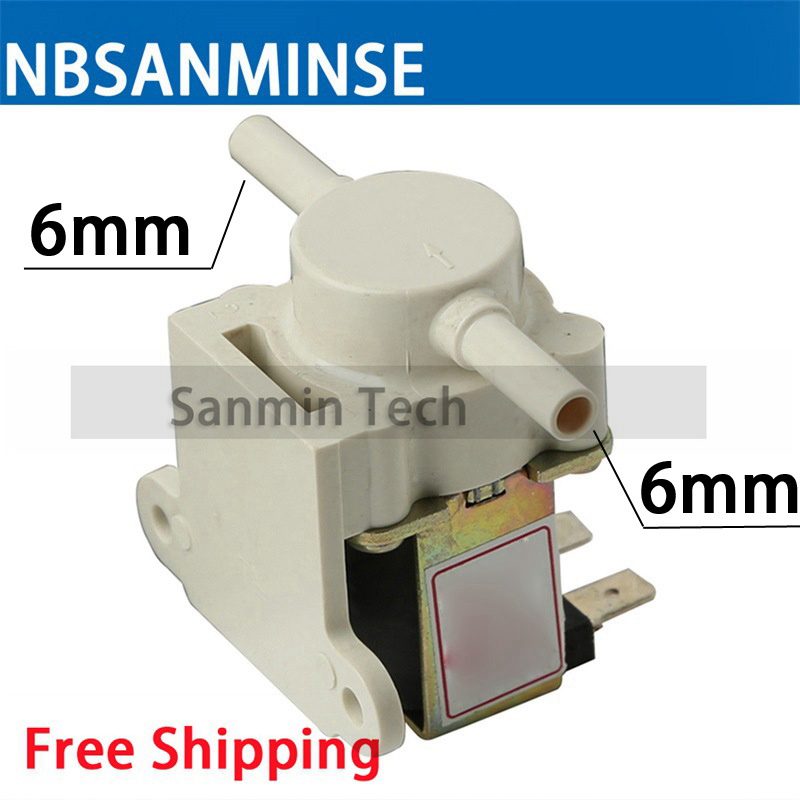 NBSANMINS SMPDJ 20 Water solenoid valve  normally closed inlet valve diameter DN6 Water dispensers, coffee machines, dishwashers