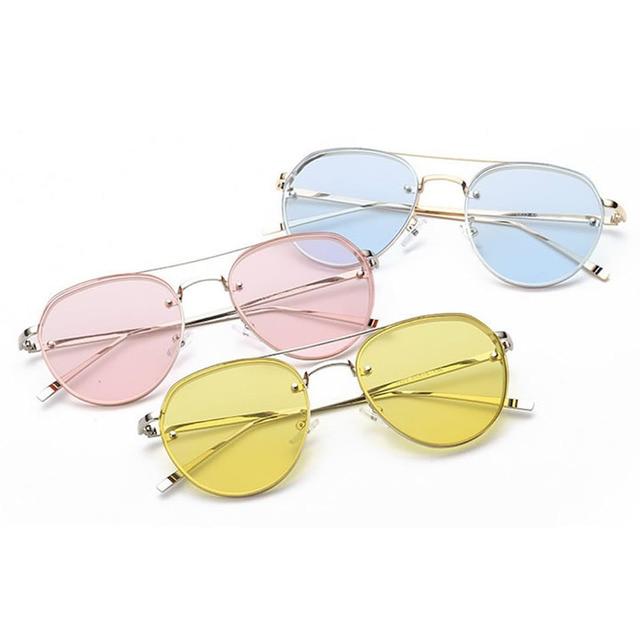 Moda kadın altın retro cat eye güneş boy tasarımcı vintage shades