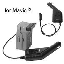 DJI Mavic 2 Car Charger Battery Remote Control Charger for Mavic 2 Zoom Pro Outdoor Intelligent Vehicle USB Charging Spare Parts
