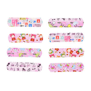 Emergency-Kit Bandages Adhesive Skin-Care First-Aid Cartoon-Band Breathable Waterproof