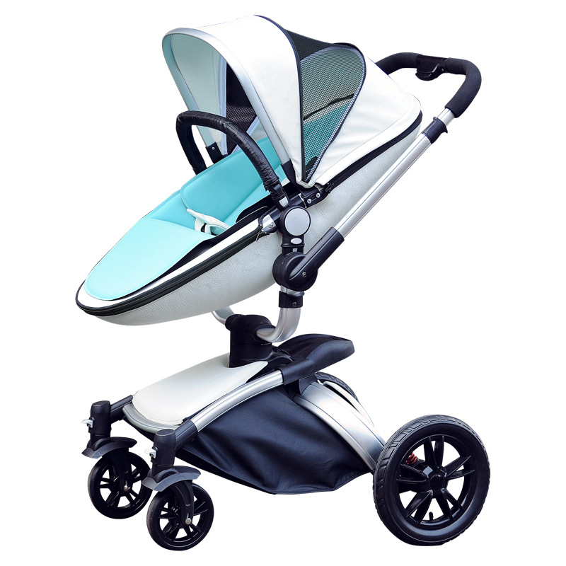 AIQI Luxury Multi-Function Babyyoya Stroller  Folding Baby Carriage Can Sit Can Lie Baby Trolley High Landscape Baby StrollerAIQI Luxury Multi-Function Babyyoya Stroller  Folding Baby Carriage Can Sit Can Lie Baby Trolley High Landscape Baby Stroller