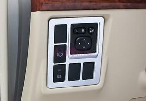 Image 5 - Voor Toyota Land Cruiser 150 Prado FJ150 2010 2017 Deur Handvat Houder Steerling Wiel Gear Cover Chrome Auto Styling accessoires
