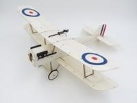 الصغيرة جدا balsawood عدة minimumrc 378 ملليمتر جناحيها طائرة SE5A مايكرو rc البلسا الخشب الليزر قطع بناء كيت فرش k4