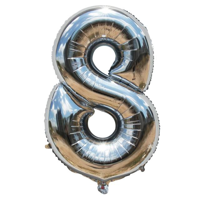40 inch Number Foil Balloons