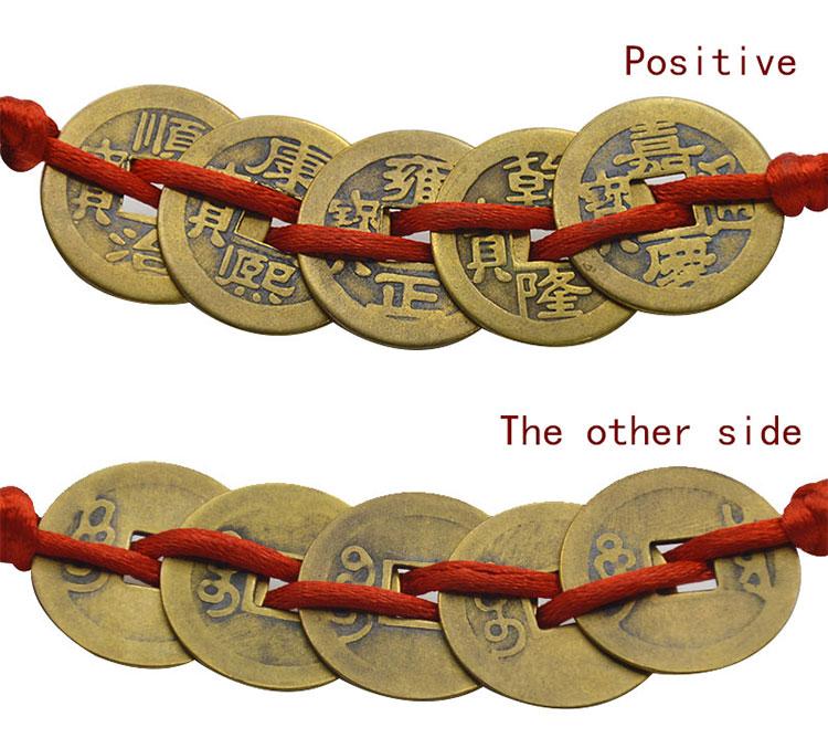 6 stücke Chinesische Fengshui Wu Lou Hulu Kürbis für Reichtum Glück