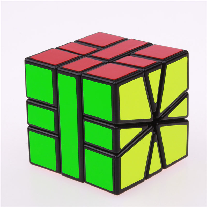 Sheng Shou Square-1 magic speed cube pendidikan profesional 3X3X3 SQ1 - Teka-teki - Foto 2