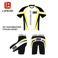 72712970b Camiseta de ciclismo larga AO personalizada puedes elegir cualquier  tamaño cualquier color cualquier logotipo