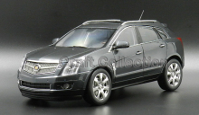 Grey 1/18 Cadillac SRX 2011 Diecast Model Car SUV Limited Edition Luxury Vehicle Brinquedos Off Road Automobile
