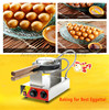 Stainless Steel Electric Egg Cake Oven Egg Waffle Maker Home And Commercial Durable Delicious 220v
