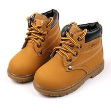 5753c587d Niños botas de nieve zapatos para niñas niños botas moda inferior suave  Girls Boot 21-30 Otoño Invierno niños botas