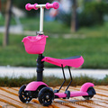 Free Shipping One can sit three meters high scooter pedal multifunctional flash three children walker one generation