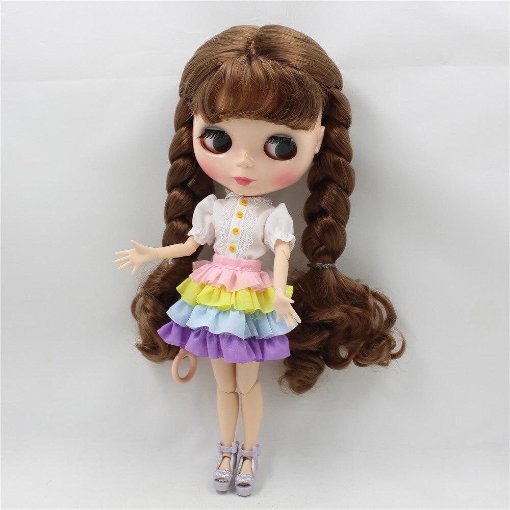 Neo Blythe Doll Rainbow Dress 1