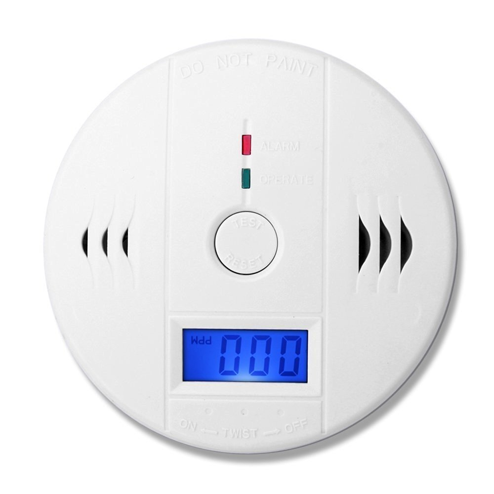 Independent LCD CO Carbon Monoxide Poisoning Sensor Detector Monitor CO Gas Sensor Alarm