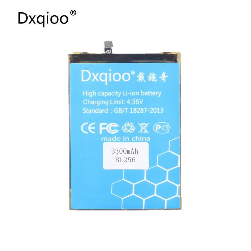 Dxqioo Mobile phone battery fit for Lenovo Lemon K4 Note K4note / X3 Lite K51c78 / A7010 BL256 3300mah batteries