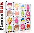 16 cubes Children's wardrobe cabinet kids closet organizer childrens wardrobe 47CM